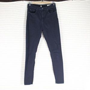 Rag & Bone Justine Skinny Dark Blue Jeans Size 30